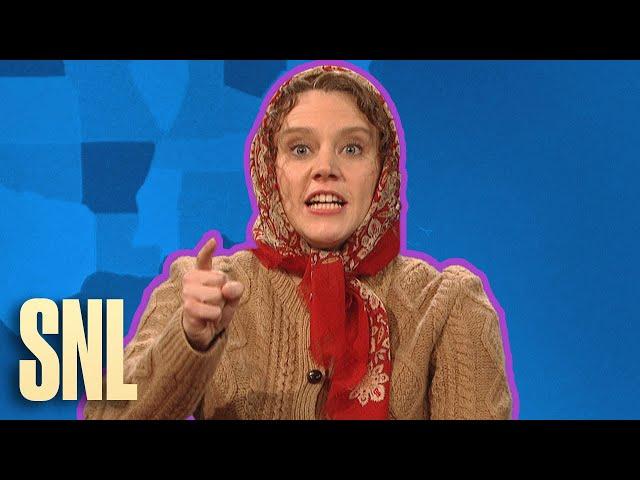 Weekend Update Rewind: Olya Povlatsky (Part 2 of 2) - SNL