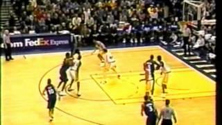 Michael Jordan 2003: Age 40, Abuses Ron Artest & Pacers
