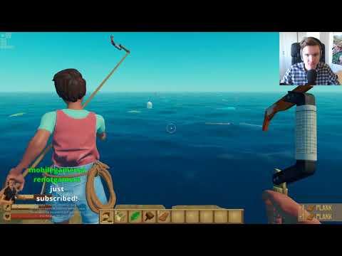 4 Idiots on a raft - Teo plays Raft co-op w/Paddy, Alex & Sammy