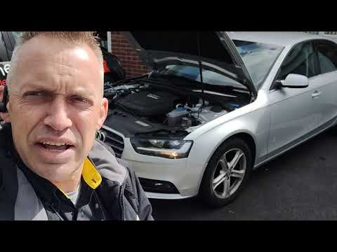 Diagnostic consultation and Engine Carbon Clean on an Audi A4 2.0 TDI (2013 - 53,540 miles)