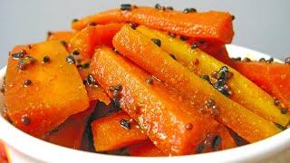 ग जर क अच र   gajar ka achar   carrot pickle