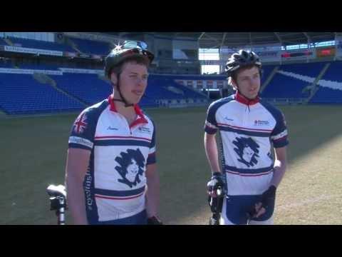 'Cycle The 92' visit Cardiff City Stadium