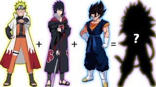 20 Dragon Ball + Naruto Fusion Characters