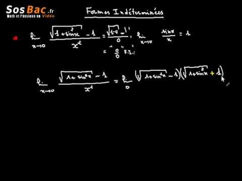 Limites et Continuité cours 8 : 2 BAC International