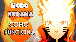 COMO FUNCIONA O MODO KURAMA EM NARUTO | Player Solo
