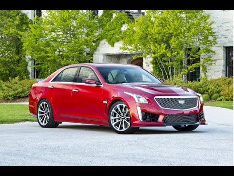2016 CADILLAC CTS: A Completely Unprofessional Review