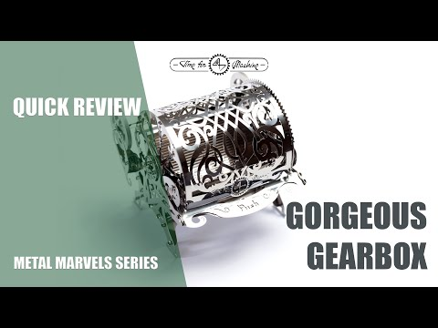 Time for Machine. Metal marvels. Quick review of Gorgeous Gearbox