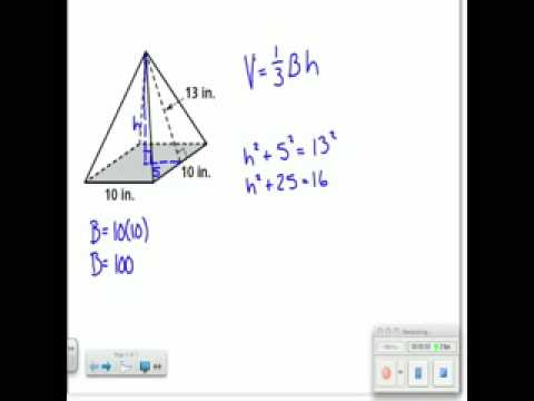 What Is The Volume Of The Pyramid In The Diagram U2014 Untpikapps Manual Guide
