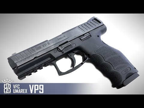 *Airsoft Review * VFC UMAREX VP9 | Deutsch - English Subtitle