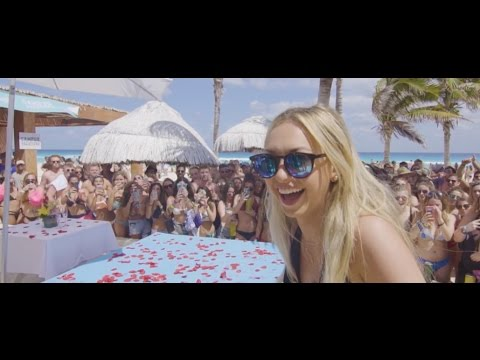 Corinne Olympios Spring Break with Campus Vacation in Mexico