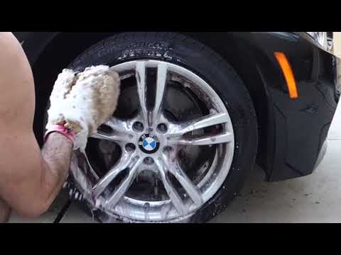 How to Clean a BMW Wheel - Using Sonax Full Effect