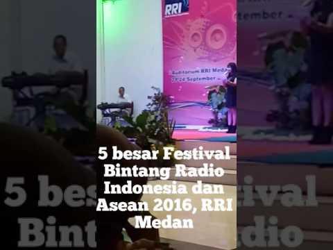 Festival Bintang Radio Indonesia dan Asean 2016 Medan