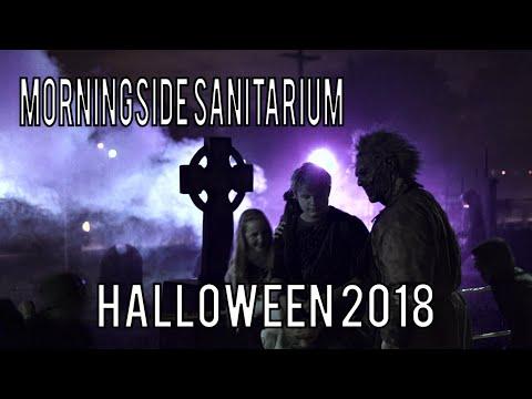 Morningside Sanitarium Halloween Haunted House Yard Haunt 2018