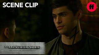 Shadowhunters | Season 2, Episode 1: Alec's Apology to Magnus | Freeform