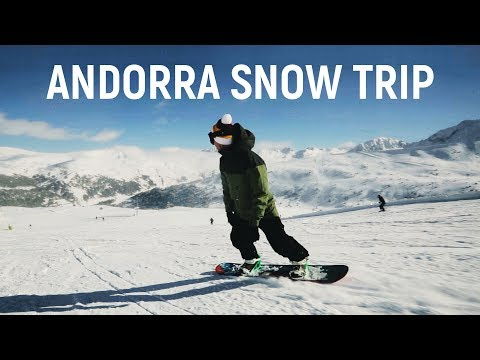 Andorra Snow Trip 4K