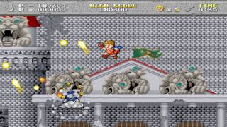 Legend of Hero Tonma Lv5-6-7 End 1989 Irem Mame Retro Arcade Games