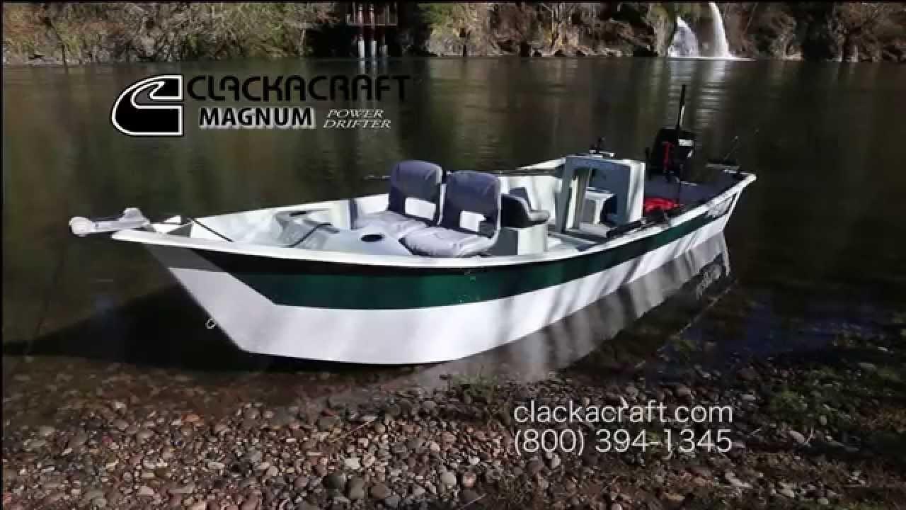 Clackacraft Magnum Power Drifter