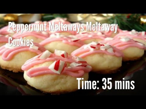 Peppermint Meltaways Meltaway Cookies Recipe