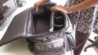 vivitar camcorder bag unboxing review