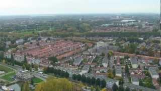 Ballonvaart: Dordrecht van boven