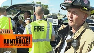 Feuerwehr in Florida: Auffahrunfall mit Touristen! | Achtung Kontrolle | kabel eins