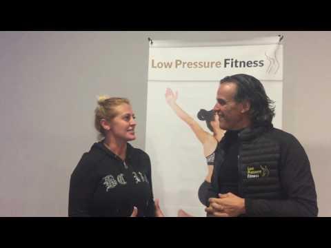 Ivonne Armant, alumna feliz de Low Pressure Fitness