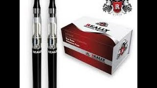 QUIT SMOKING - E CIGARETTE UK - REALLY EGO-CE4 1100mAh DELUXE KIT REVIEW 2014