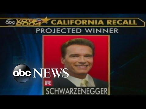 Oct. 7, 2003: Arnold Schwarzenegger Elected
