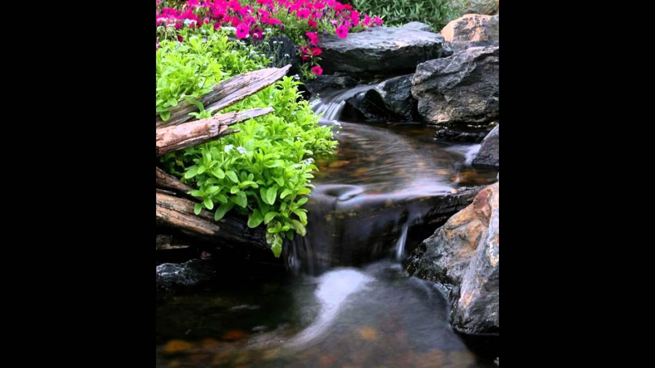 Realistische Garten Wasserfall Dekor Ideen