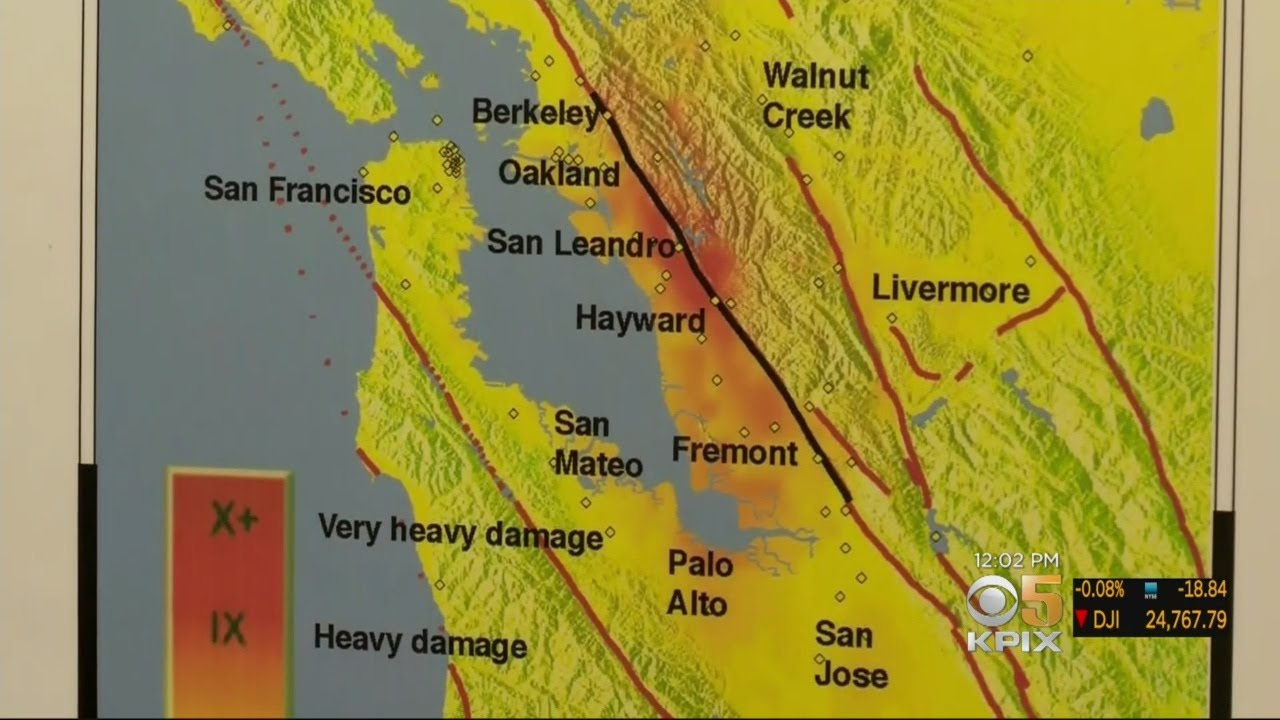 New USGS Study Predicts Dire Consequences In Major Quake On Hayward ...