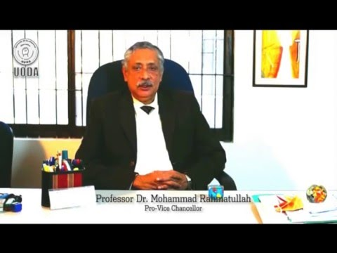 4755cce5d3dda2 Message from the Pro-Vice Chancellor Professor Dr. Mohammad Rahmatullah
