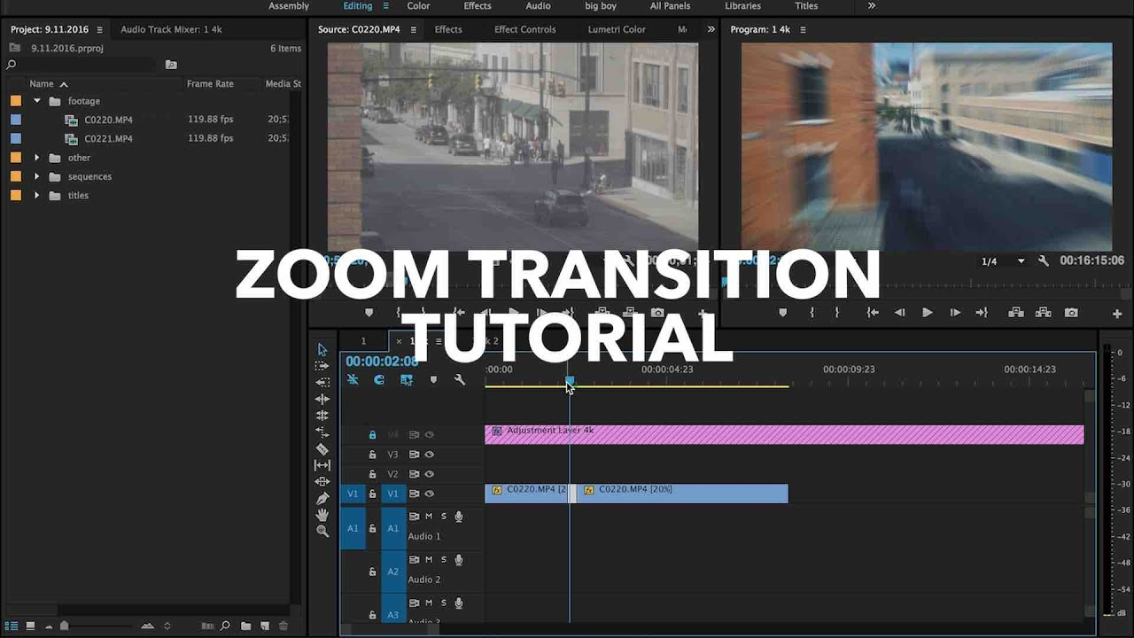 Updating to Premiere Pro CC 2019