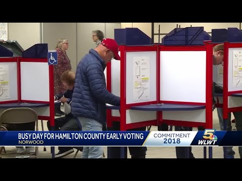 Busy day for Hamilton County early voting