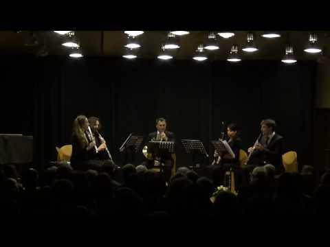 Darius Milhaud: La Cheminée du Roi René Op.205 (1939), Basel Philharmonic Quintet