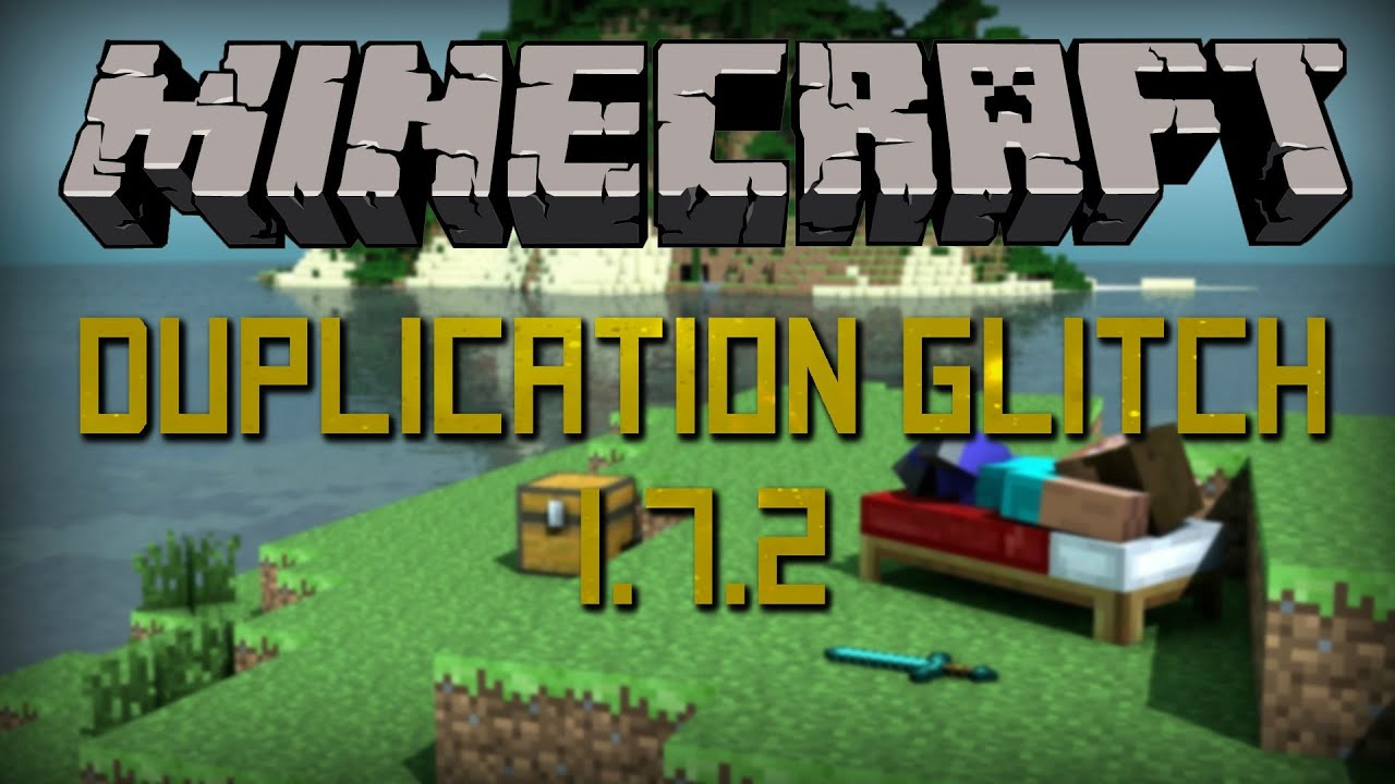 1 7 2  minecraft flower pot duplication glitch