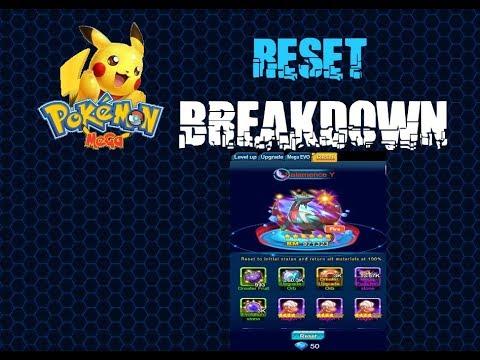 Pokemon Mega Breakdown: How to reset a pokemon.