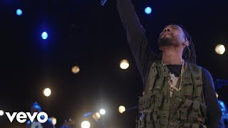 Miguel Adorn Live On The Honda Stage At The Iheartradio Theatre La