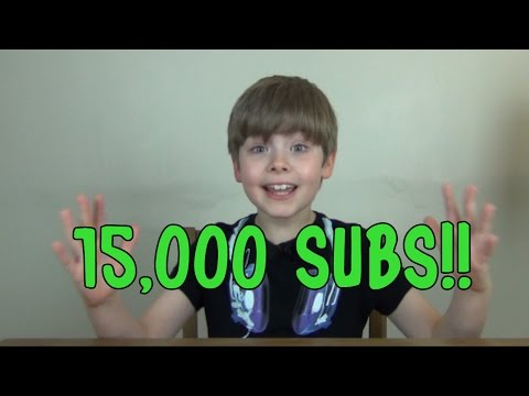 VLOG #3 - 15000 SUBSCRIBERS!! + Roblox + 2015 Plans + MORE!