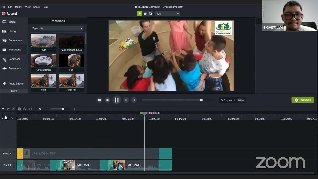Free Homeschool Online Class #32: Video Editing การตัดต่อวิดิโอขั้นต้น
