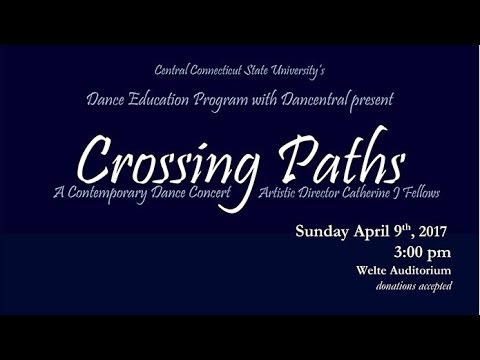 """Francesco Blackmore """"Crossing Paths"""" performed by CCSU Dance Department"""