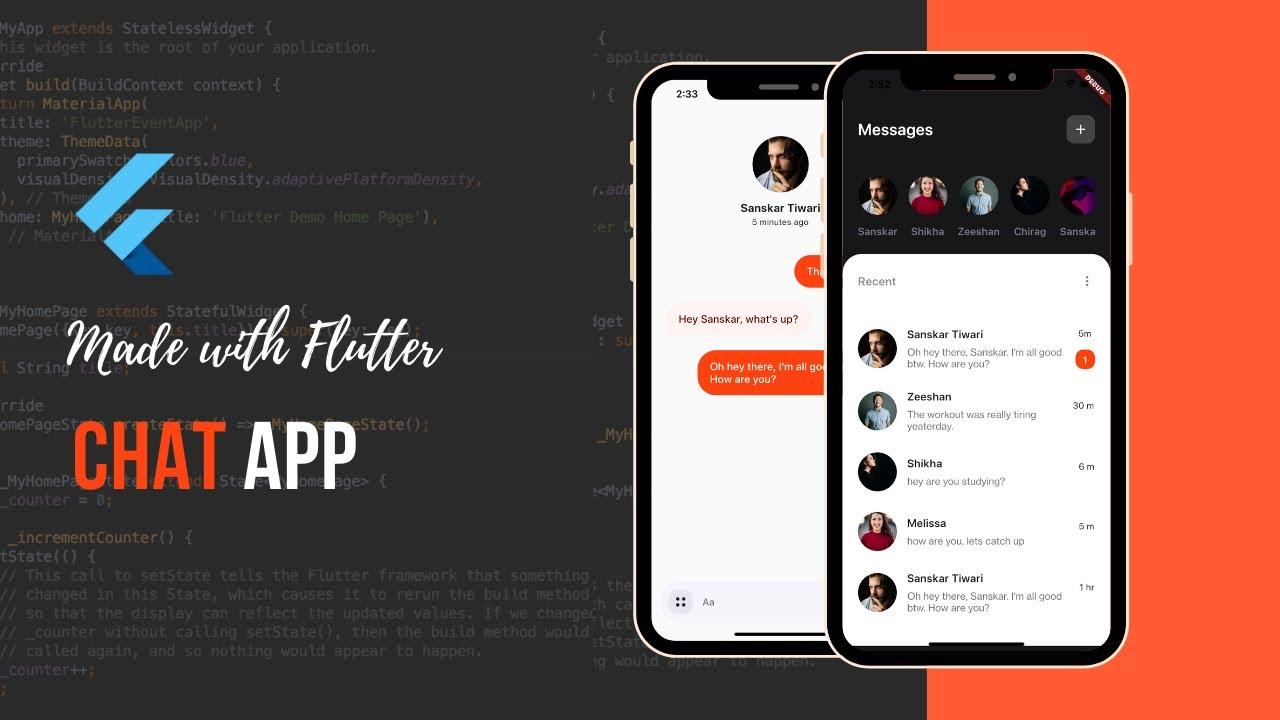 Building a Flutter Chat App - Flutter Tutorial for Beginners