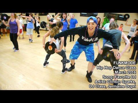 Favorite DJ - Clinton Sparks, DJ Class, Jermaine Dupri - FUNKMODE Adult Hip Hop Dance Class - 03/16