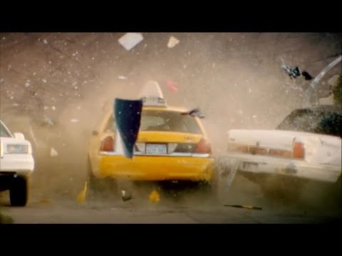 Top Gear - American Taxi Crashes Into Russian Taxi