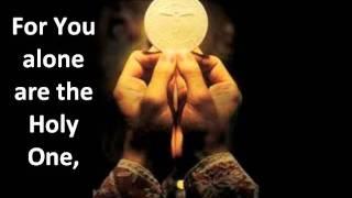 (GLORIA) Glory to God in the Highest (New Roman Missal) Catholic Mass