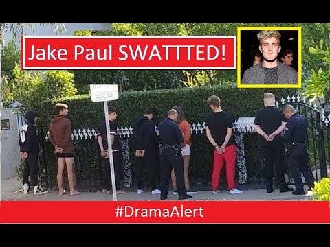 Jake Paul SWATTTED! & Dropped by Disney! #DramaAlert Jake Paul DOXXED Post Malone! H3H3!