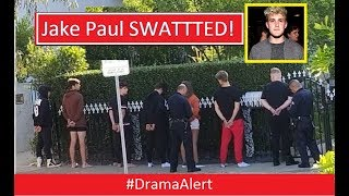 Jake Paul SWATTTED! & Dropped by Disney! #DramaAlert Jake Paul DOXXED Post Malone! H3H3!