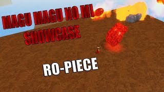 MAGU MAGU NO MI   Ro-Piece   ROBLOX   JOIN MY CREW!!!!!