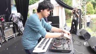 porter robinson   sad machine purpleducktape live pa