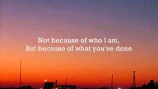 Casting Crowns - Who am I - Instrumental with lyrics