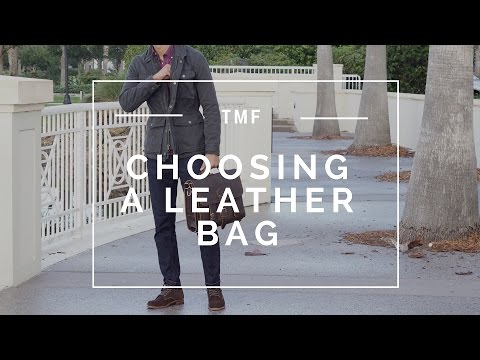3 Tips When Buying Your Next Man Bag | Reviewing Saddleback Leather